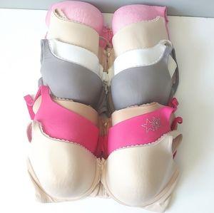 Victoria's Secret Size 36 DD Lot of 7 Bras